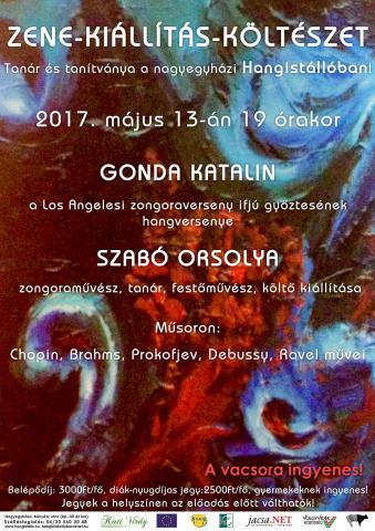 Zene-kiállítás-költészet