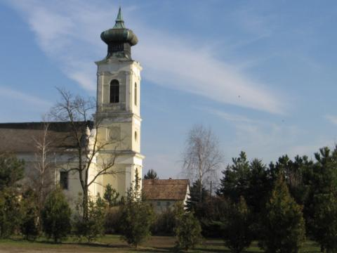 Baracska református temploma