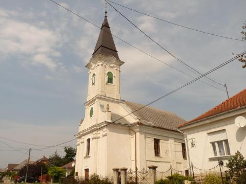 Kajászó Református templom