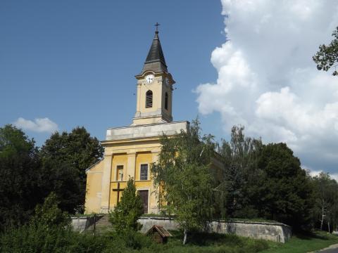 Vértesacsa Szent Kereszt feltalálása templom