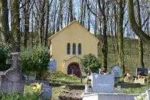 Nagyegyháza sírkert és kápolna
