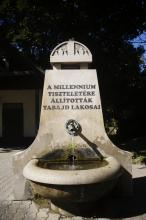 Tabajd Milleniumi díszkert