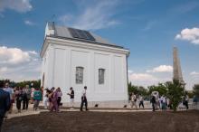 A felújított Eötvös-kápolna