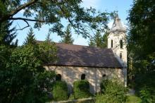 Csabdi református templom